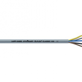 ÖLFLEX CLASSIC 100 300/500V PVC Grijs 10x0,75mm2