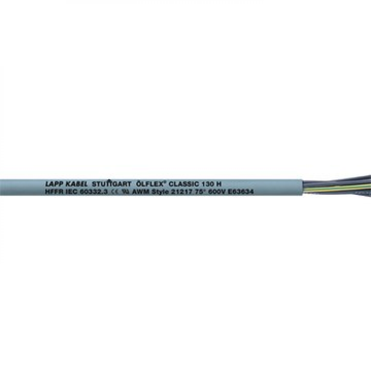 ÖLFLEX CLASSIC 130H HFFR Grijs 3x1mm2